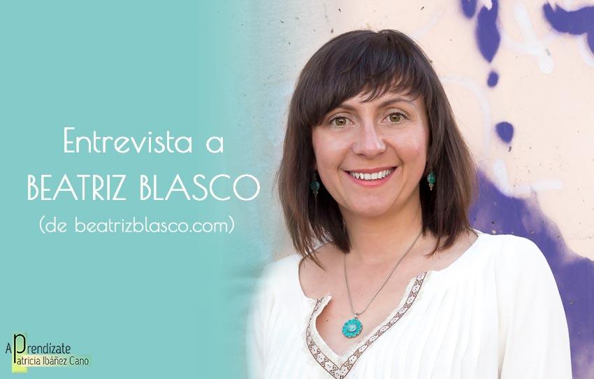 Entrevista a Beatriz Blasco