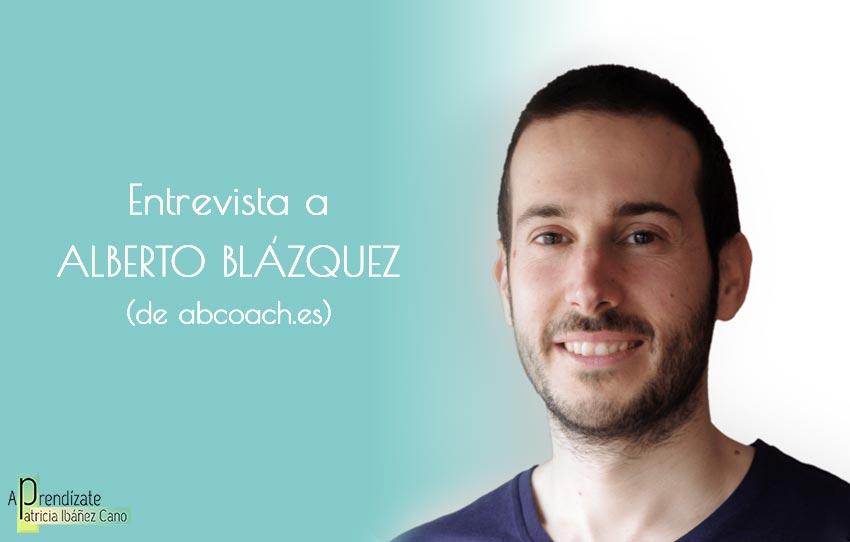 Entrevista a Alberto Blázquez
