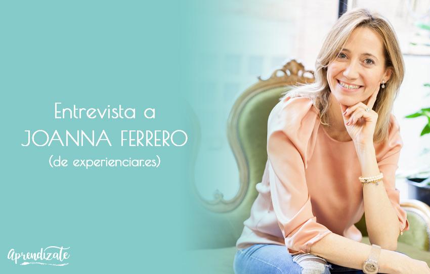 Entrevista a Joanna Ferrero